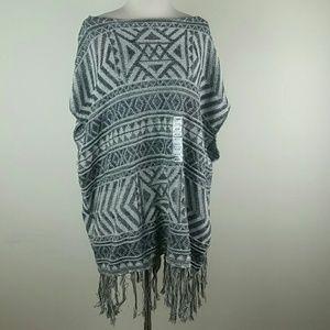 Anthropologie eight eight eight bohemian sweater